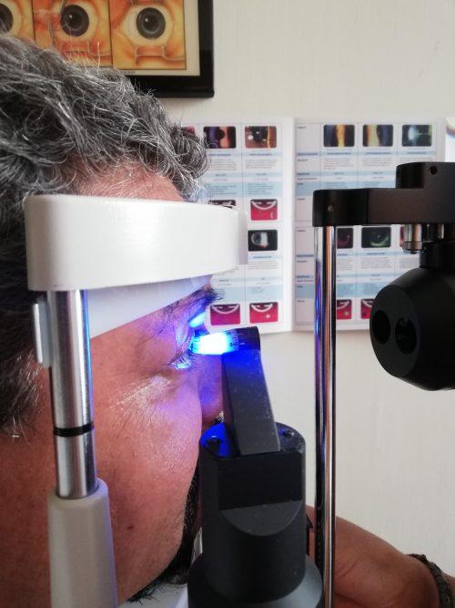 Consulta optométrica profesional