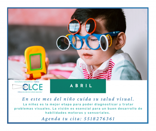 Abril mes de cuidar la salud visual en niños